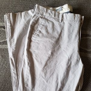 Light grey men's dress pants